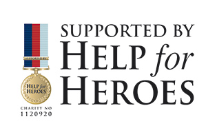 Produly supported by Help for Heroes